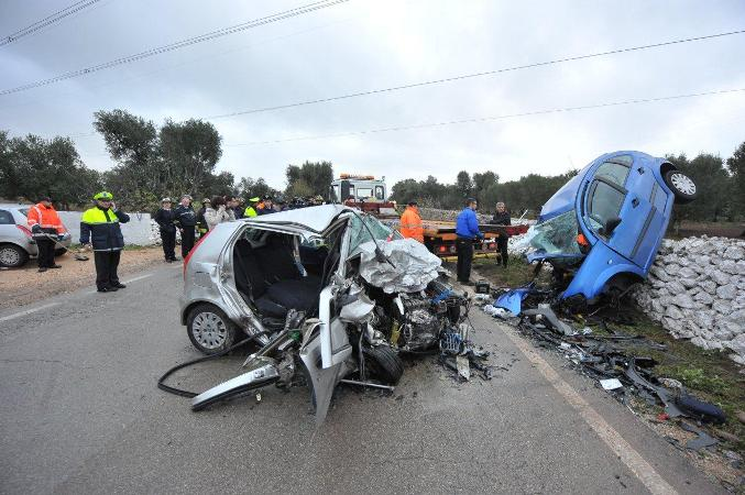 Tragedia sulla strada muoiono madre e figlia e il papà si ribalta ...