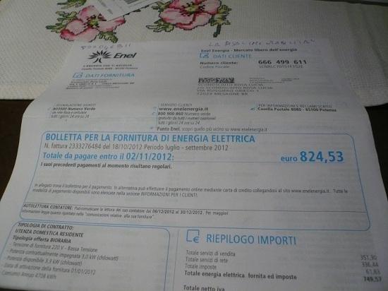 Fax pagamento bolletta enel energia blogbacka for Enel gas bolletta