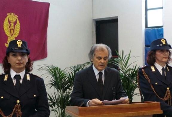 Festa della Polizia:  vanno via perchè promossi Zingaro e De Paolis, e consegnati 13 encomi solenni