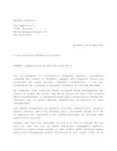 lettera al Prefetto -1