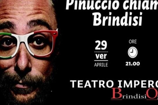 """""""Pinuccio chiama Brindisi"""", spettacolo di satira politica"""