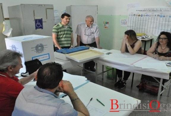 Quattro comuni al voto, urne chiuse: l'affluenza nel brindisino del 68 per cento, calo rispetto al passato