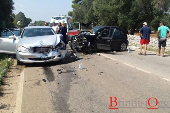 Incidente sulla Ostuni -Carovigno, traffico in tilt, 8 autobus carichi di studenti bloccati