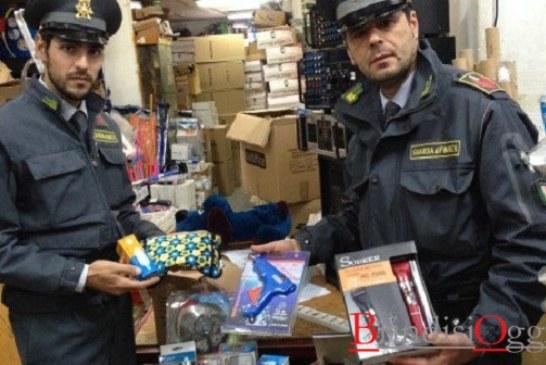 Lotta alla contraffazione, al via un piano straordinario, in pochi giorni sequestrati 11milioni di articoli