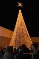 Al Centro Commerciale Auchan è Natale I Bambini Accendono Le