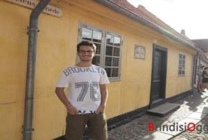 Studente brindisino vince una borsa di studio, da tre mesi vive in Danimarca, la storia di Federico