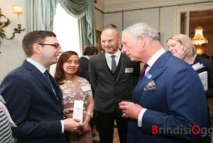 Architetto brindisino a Londra incontra il principe Carlo per la presentazione del Heritage, Place, Design