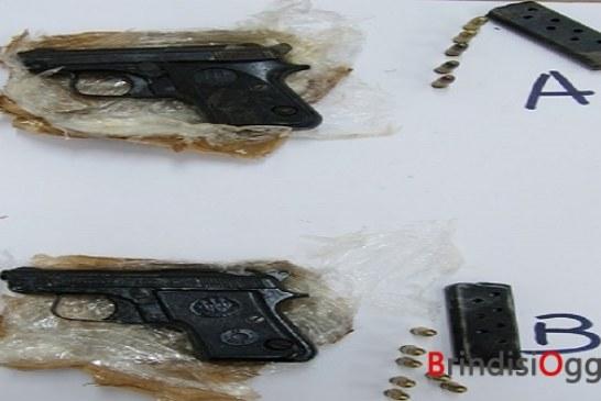Nelle campagne di Sant'Elia interrati  13 chili di droga, armi e munizioni