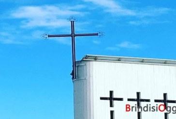 Parrocchia San Lorenzo, stasera l'accensione della nuove Croce luminosa
