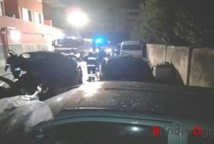Strage di auto a Sant'Elia: bruciano quattro vetture e uno scooter