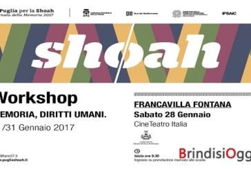 """""""Giornata della Memoria 2017"""", Cinema teatro Italia workshop sulla memoria e i diritti umani"""