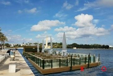 Un locale galleggiante nel porto, presentato il progetto all'Autorità portuale