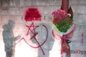 Atto vandalico al rione Sant'Angelo, offeso e macchiato il ricordo delle vittime delle Foibe
