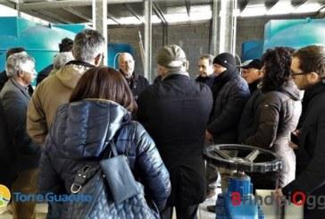 Torre Guaceto, gli agricoltori visitano l'impianto per il riutilizzo delle acque reflue