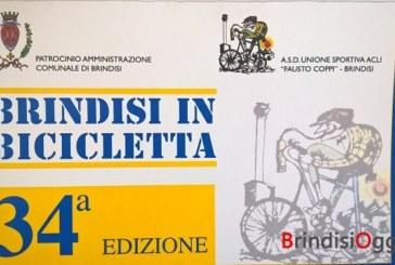 """Torna """"Brindisi in bicicletta"""", quest'anno si festeggia la 34^ edizione"""