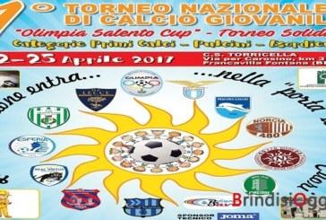"""Torneo nazionale di calcio giovanile """"Olimpia Salento Cup"""", in campo la solidarietà"""