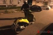 I vigili urbani ritrovano a Sant'Elia lo scooter rubato di Poste Italiane