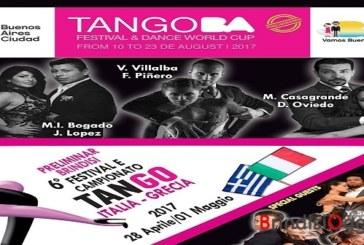A Brindisi la fase preliminare del mondiale di Tango di Buenos Aires