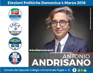 Antonio Andrisano home elezioni